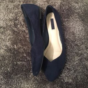Forever 21 Navy Blue Flats